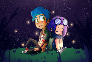 collab with mao     bon x bonnie fnafhs by pamwestrup