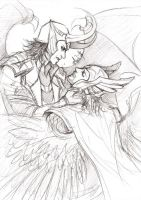 ThorKi - I'll never come back - Sketch by Lehanan