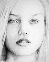 Sketch - Female Face by PMucks