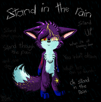 Stand In The Rain by Nine-tailed-FireFox