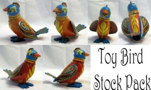 Toy Bird Stock Pack by XdemonicXstockX