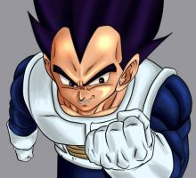 pride of a prince vegeta by yamcharevenge