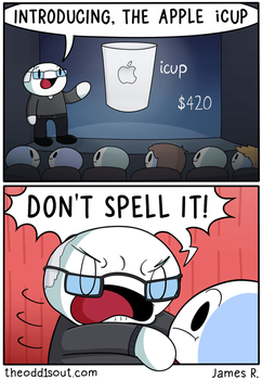 Apple icup by theodd1soutcomic