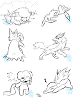 Pokemon doodlez-SAI 2 by Fly-Sky-High
