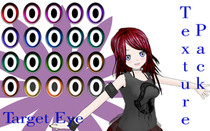 MMD Target Eye Texture Pack by MMD-Nay-PMD