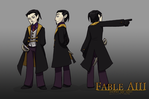 :FableAIII: Logan by Clockworkteadoll