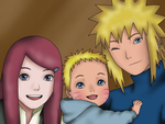What Could Have Been - Minato, Kushina, Naruto by MSU82