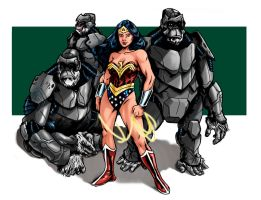 Wondy's Gorilla Squad by robthesentinel