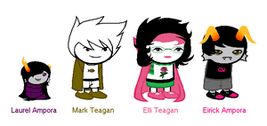 Me and Eri's Kids by TargetGirl