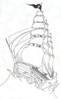 Pirate Ship by CloudOne