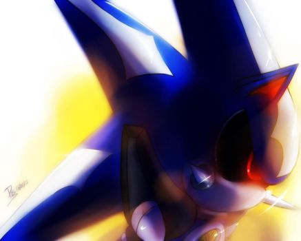 One Hour Sonic 005 - Neo Metal Sonic by ElsonWong