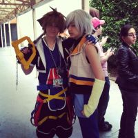 ANext2013: Riku and Sora by DifferentWaysToCry