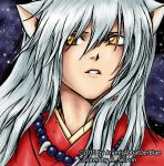 InuYasha Colored by Me by M-Skirvin