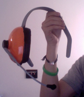 Scout Cosplay headset 1.0 by Sscreen