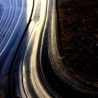 Abstract in Ice Number 6 by LisaLovelyLPA