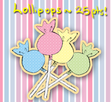 Lollipops~ 25pts (CLOSED) by WanNyanAdopts