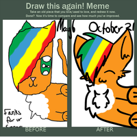 You likes ma new do? -Draw this again meme- by ElliottNightingale