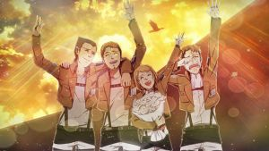 The Reluctant Heros - Shingeki no Kyojin by 34Kai