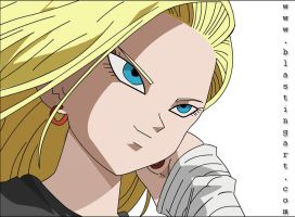 Android 18 Final Version by wickedsunny1