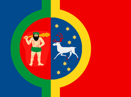 Flag of Independent Lapland [CaEu] by CoralArts