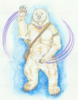 Spirit Bear by MechanicalHyena