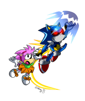 Superior Metal Hedgehog by NextGrandcross