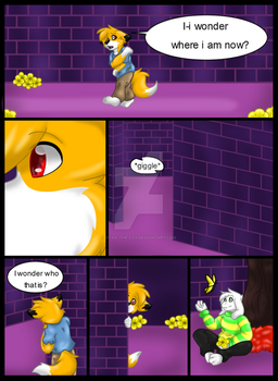 Undertale comic page one by Ryan-the-fox