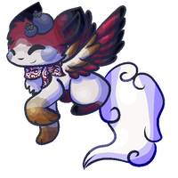 .:COM:. Lookie at my tail! by Eevee-woman