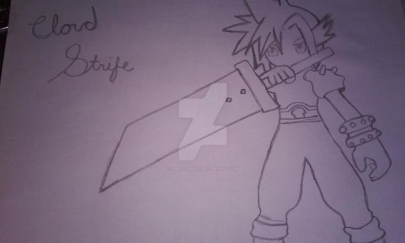 Cloud Strife (final fantasy 7) by ymrtc555602