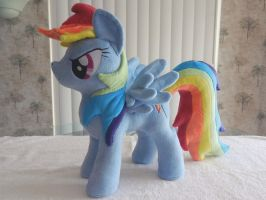 RainbowDash Plush by EquestriaPlush