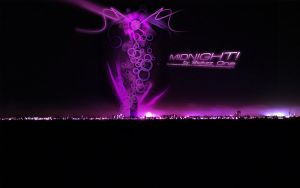 Midnight Widescreen Wallpaper by SickzzOne