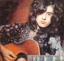Jimmy Page by paulnery