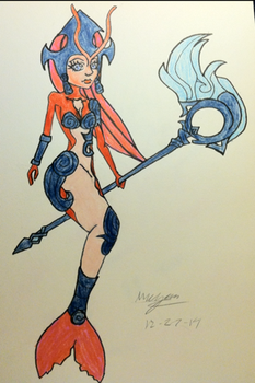 nami, the tidecaller 2 by LePizzaPony