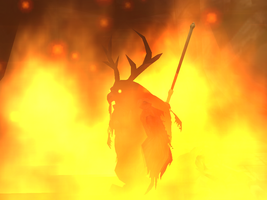 Moonkin Within the Flames... by sweetietweety111