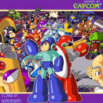 Megaman Time Tangent Complete Works Cover by JusteDesserts