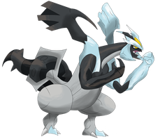 BLack Kyurem by Ryan-sprite