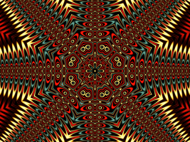 Kaleidoscope Design 14 by DennisBoots
