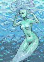 Mermaid by A-Griffin-And-Duck