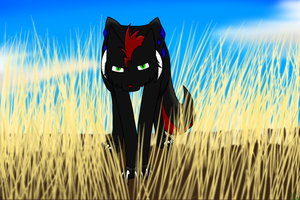 Stalking (Art trade) by silverwing2254