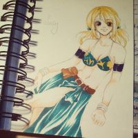 Lucy ~ Edolas Outfit by Vanilla-Mai