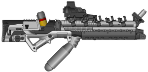 Microfusion Rifle by NeoMetalSonic360