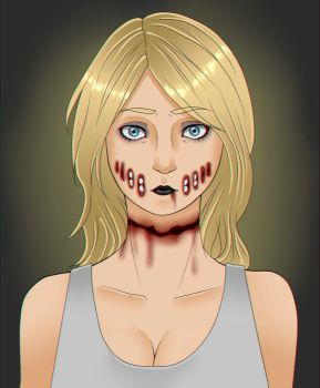 Request #9: Ashley The Infected by SilentSnow777