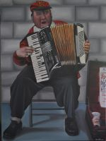 The Accordion Man by Rollingboxes