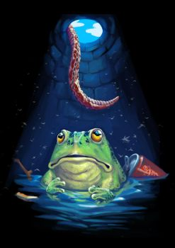 a frog in a well by KwokKinYuen