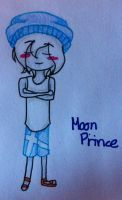 Moon Prince, an AT Reverse OC by KartittyVangina