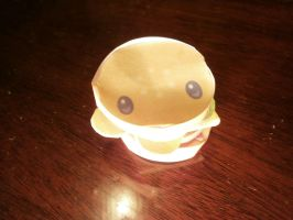 Cheesburger papercraft by sabrynaM