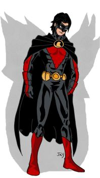 Red Robin by Jasontodd1fan