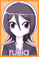 rukia card by cafe-au-pink