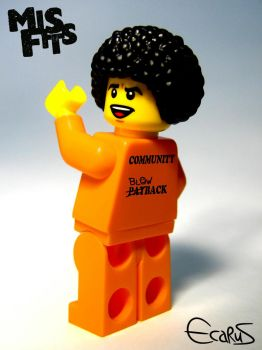 Custom Minifigure - Nathan Young from Misfits by OnizukaAS