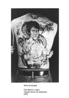 Tattoo Series - Bruce Lee by Twilit-Arawen